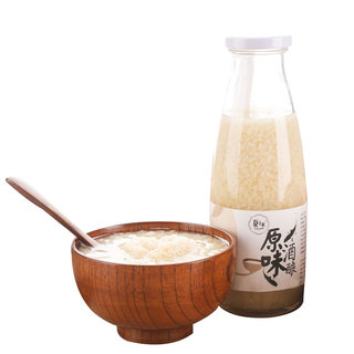 Fermented glutinous rice sweet rice wine Tian Jiuniang bottled ready-made puree of fresh lees mask standing female share