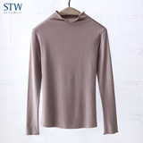 STW warm top women's modal bottoming shirt seamless turtleneck underwear cotton sweater winter long-sleeved close-fitting autumn clothes