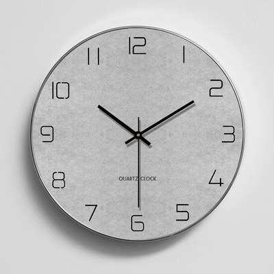 Nordic creative minimalist wall clock living room wall watch modern home European clock personality clock atmosphere C05