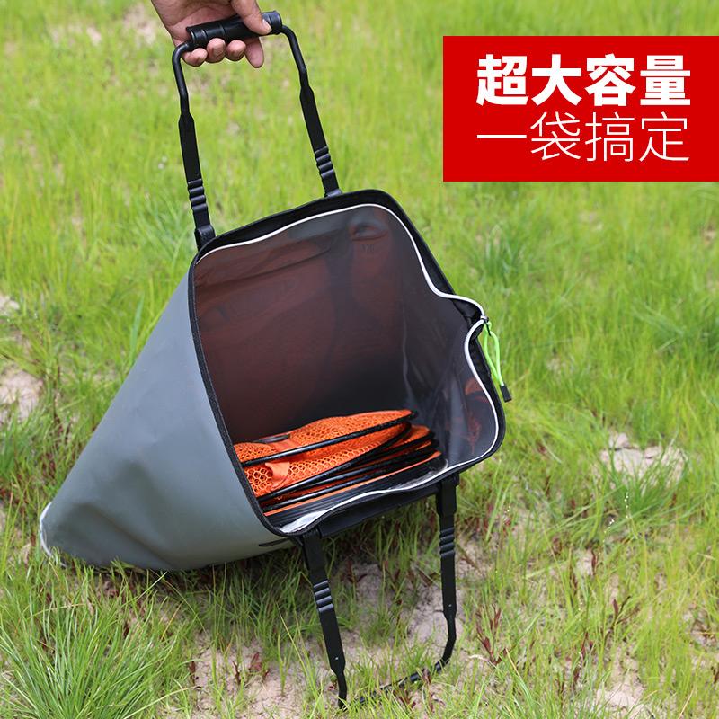野营者新款鱼护包手提袋特价加厚多功能钓鱼折叠清仓袋防水鱼护袋