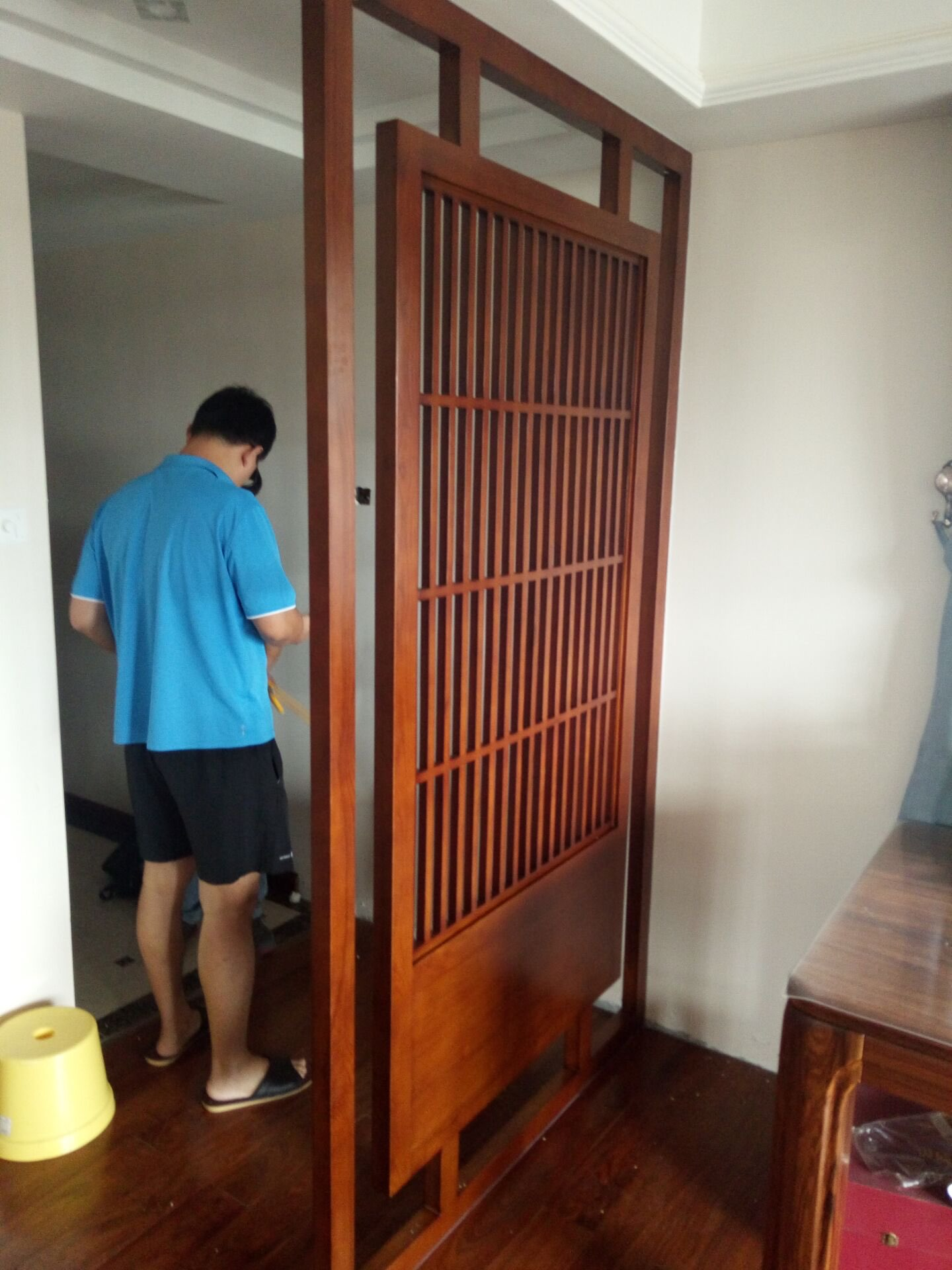 Usd 18000 Modern Chinese Hollow Solid Wood Flower Style Screen