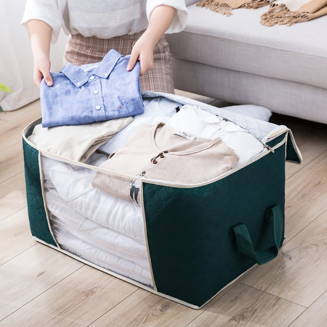 Quilts clothing storage bags organize bags packed luggage moving artifact loading of large domestic large clothes quilt