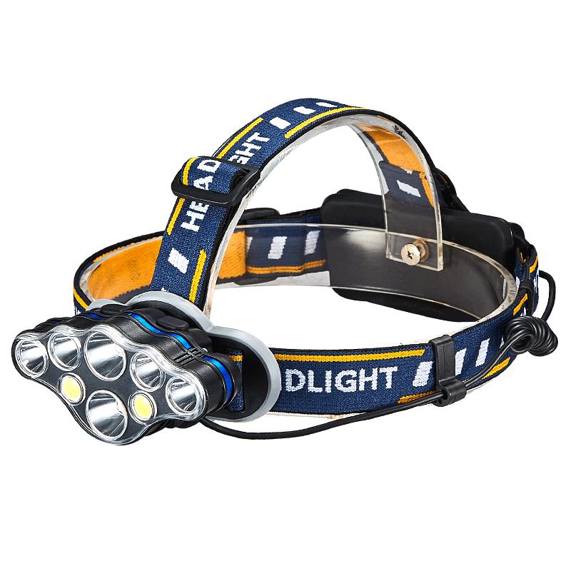 岚鹰led头灯锂电强光充电头戴式超亮