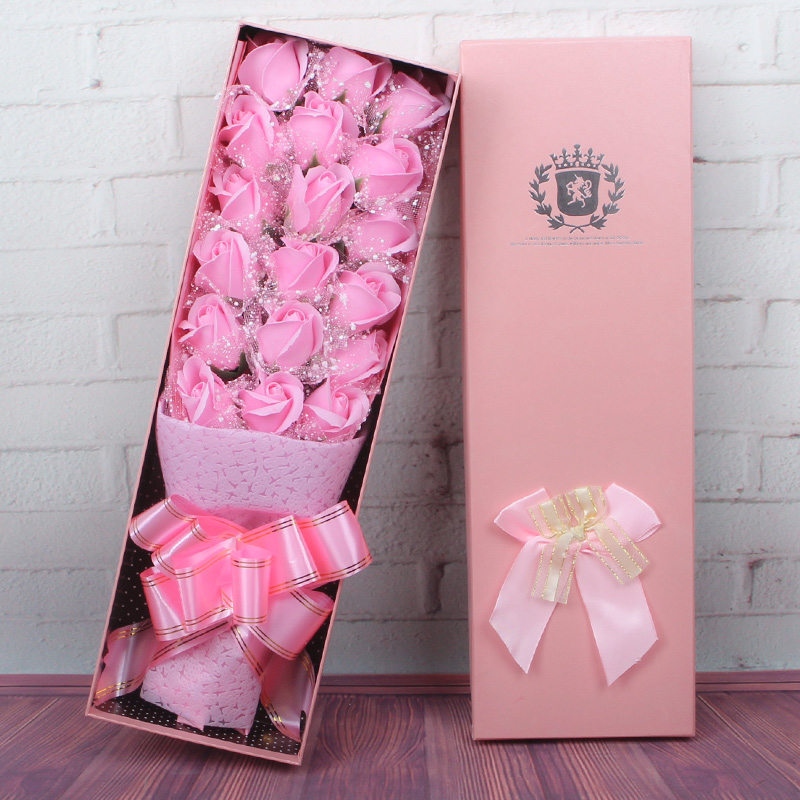 USD 535 Holiday Promotion Rose Soap Bouquet Gift Box Birthday
