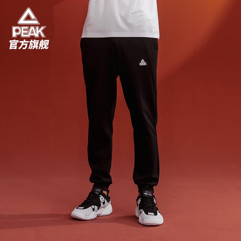 匹克运动裤长裤男士秋新款针织卫裤宽松束脚
