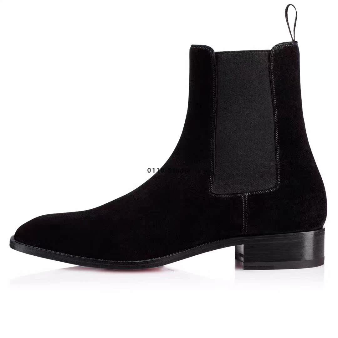 淘宝女士短靴子_cl红底靴超高跟女靴_cl靴毛_cl铆钉靴_ cl靴 - 下午,发现喜欢