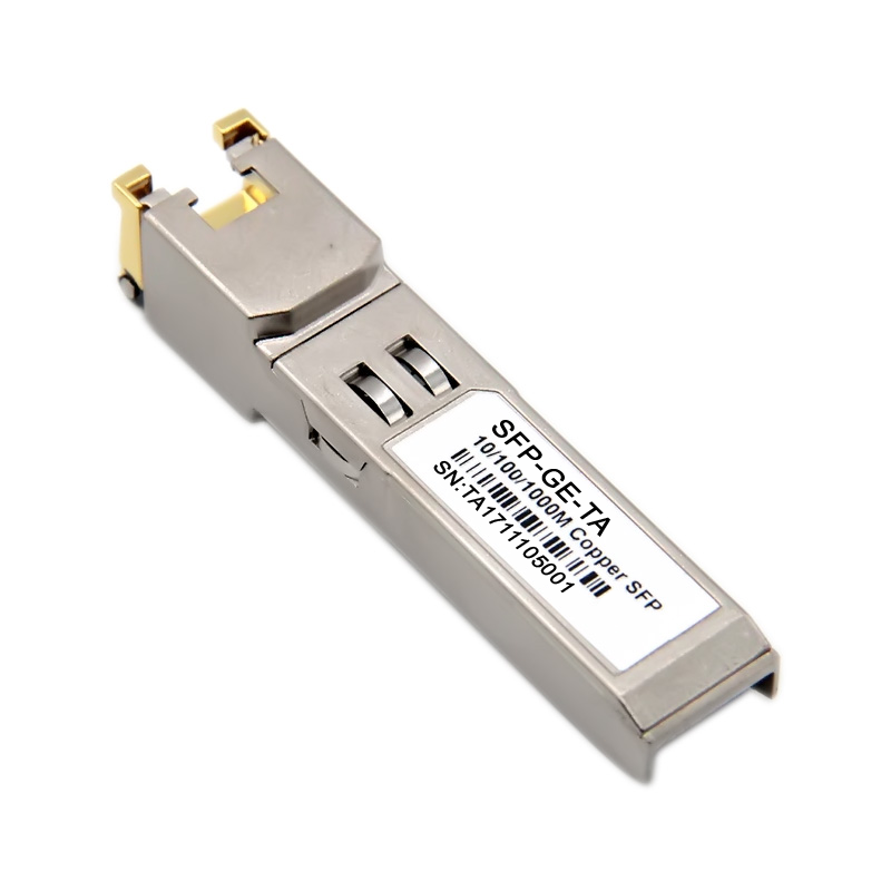 Gigabit optical module RJ45 photoelectric conversion GLC-T optical port to  power port H3C Cisco Huawei huasan SFP-GE-T