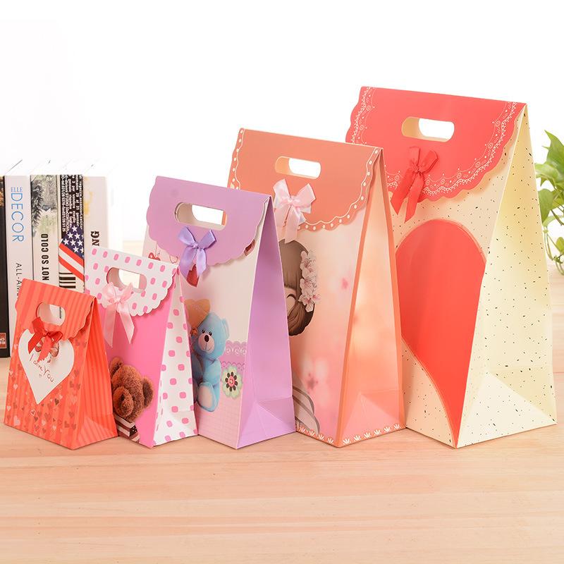生日袋子圣诞元旦春节礼物精美v生日礼品礼物节日礼品包装袋袋子盒