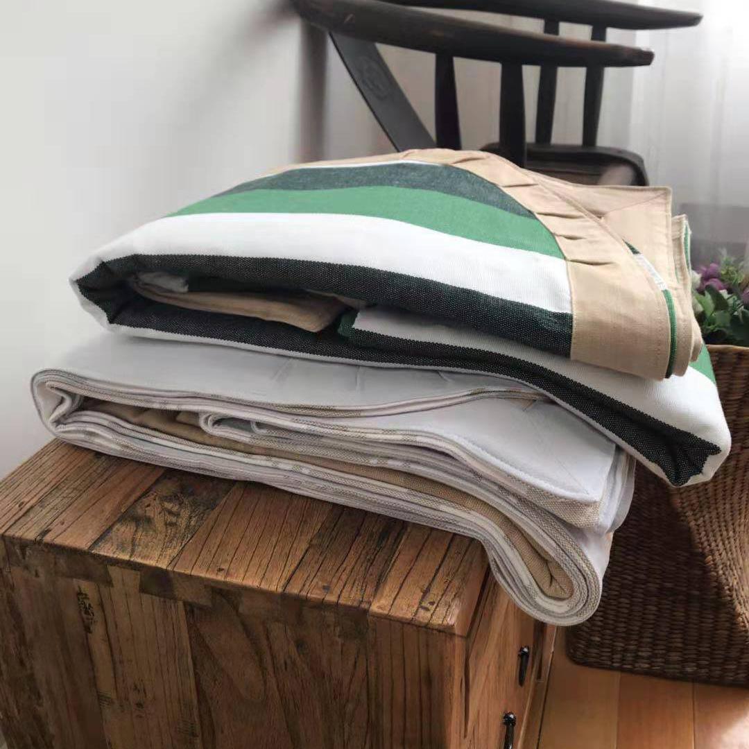 Nhà của chị Liu khuyến mại đặc biệt khuyến mãi Jingwei cotton cổ phần mat ba mảnh gói miễn phí vận chuyển - Thảm mùa hè