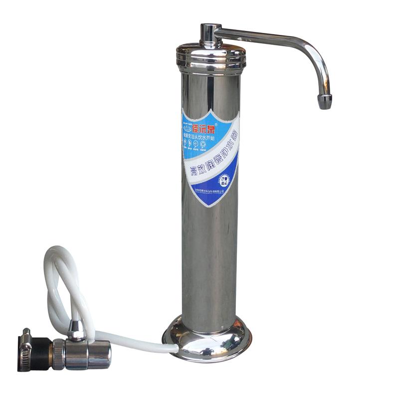 Фильтр для воды Цзя Юань весна А1 кран очиститель воды бытовые прямой питьевой кухня столешницей из нержавеющей стали воды керамический фильтр