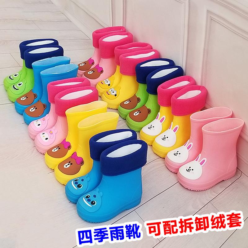 Дети ребенок ребенок водонепроницаемый обувь кашемир небольшой студент сапоги сапоги дети клей обувной мальчиков девочки скольжение принцесса