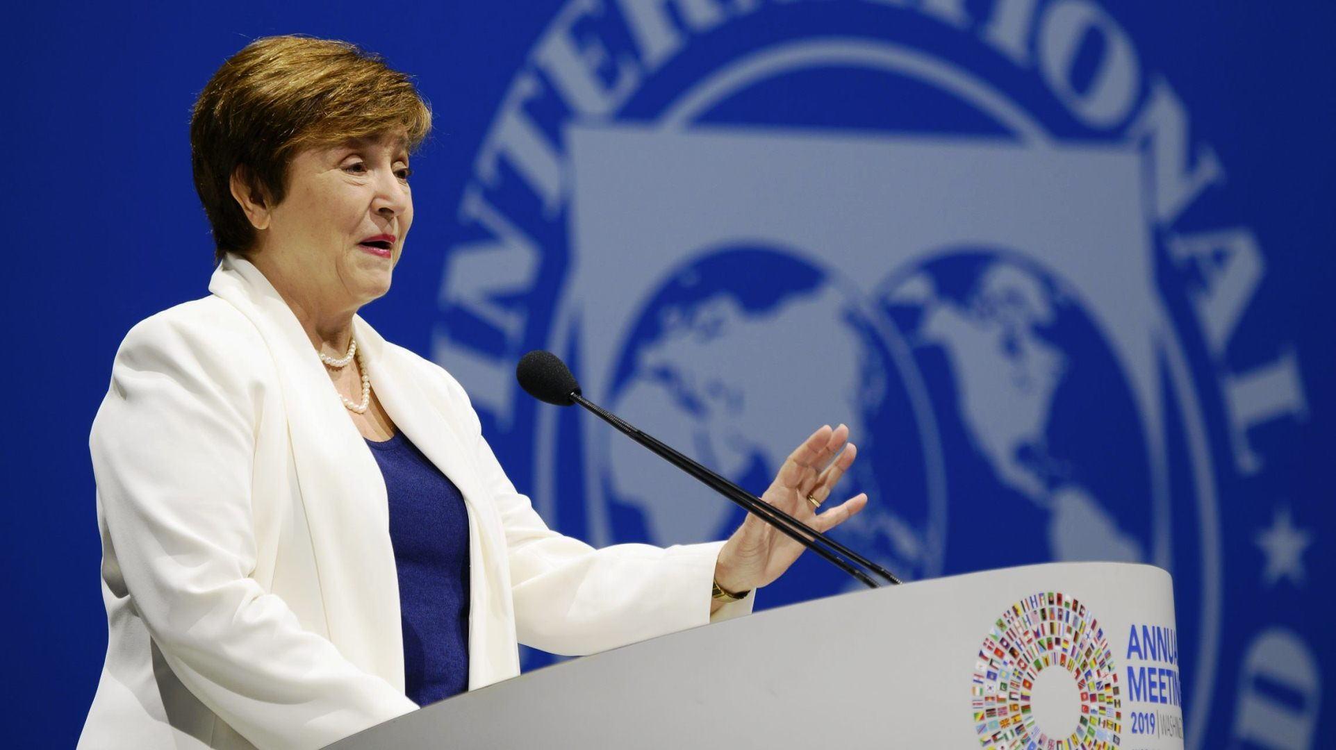 IMF总裁乔治欧:冠状病毒的流行已使全球经济陷入衰退,需要大量资金帮助发展中国家