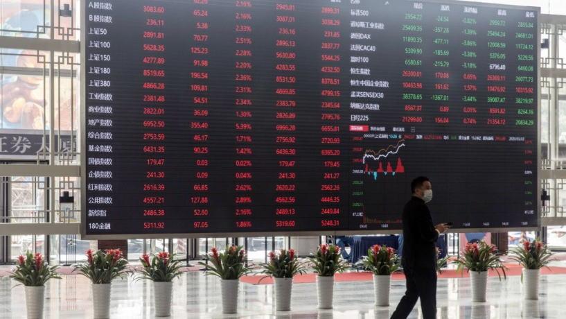 在市值单日飙升4600亿美元后,中国股市吸引了所有投资者的目光