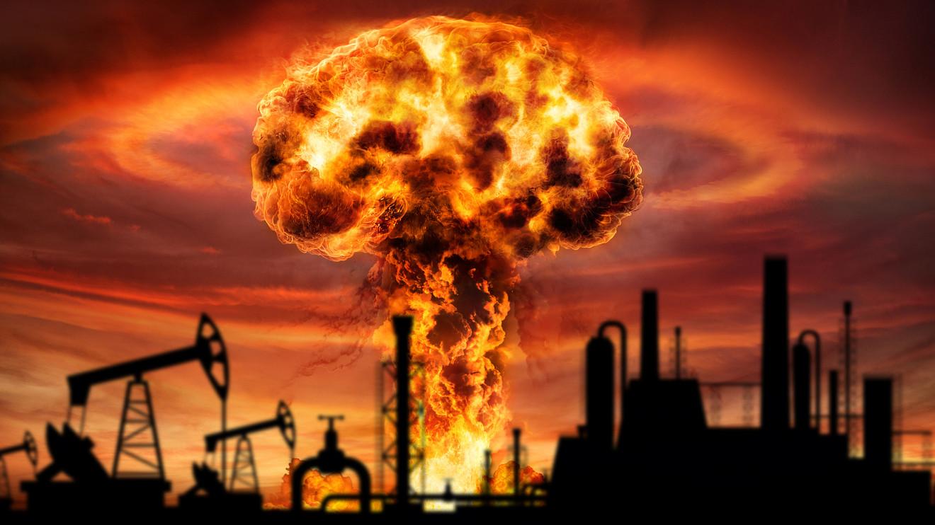 """油价持续暴跌,石油分析师表示,现在的市场就像是""""原子弹爆炸"""""""