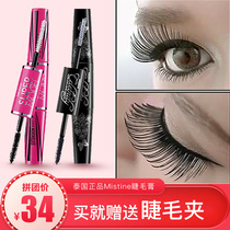 Thai Mistine Wings Double-headed Mascara 4 times times Thick Mascara