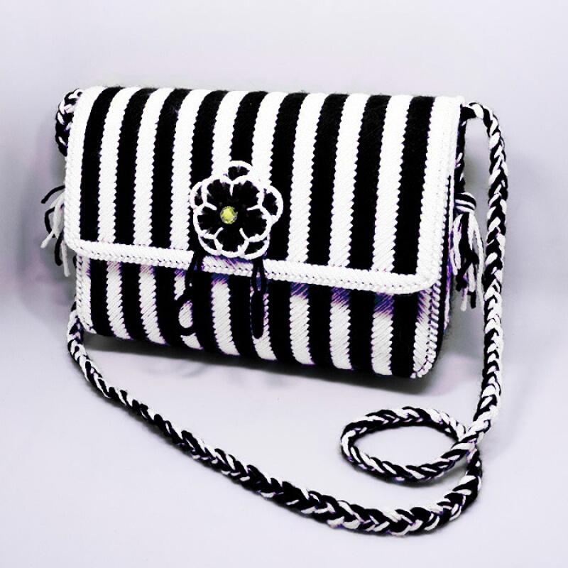 新款十字绣手提包套件绣立体绣纸巾毛线肩包长方形钱包v套件盒手包