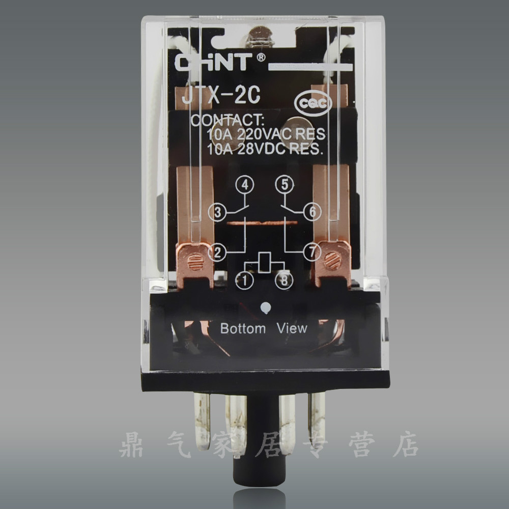 Chint Small Relay Universal High Power Electromagnetic Without Images Seat Jtx 2c Ac220v