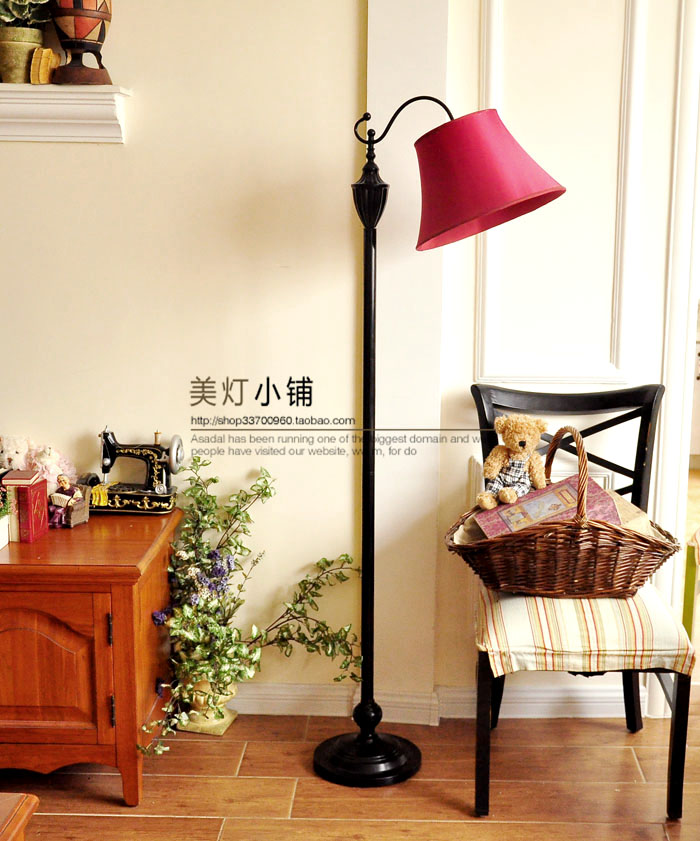 Floor Lamp Simple European Style Modern American Country Garden Living Room  Study Bedroom Fishing Lamp · Zoom · Lightbox ...