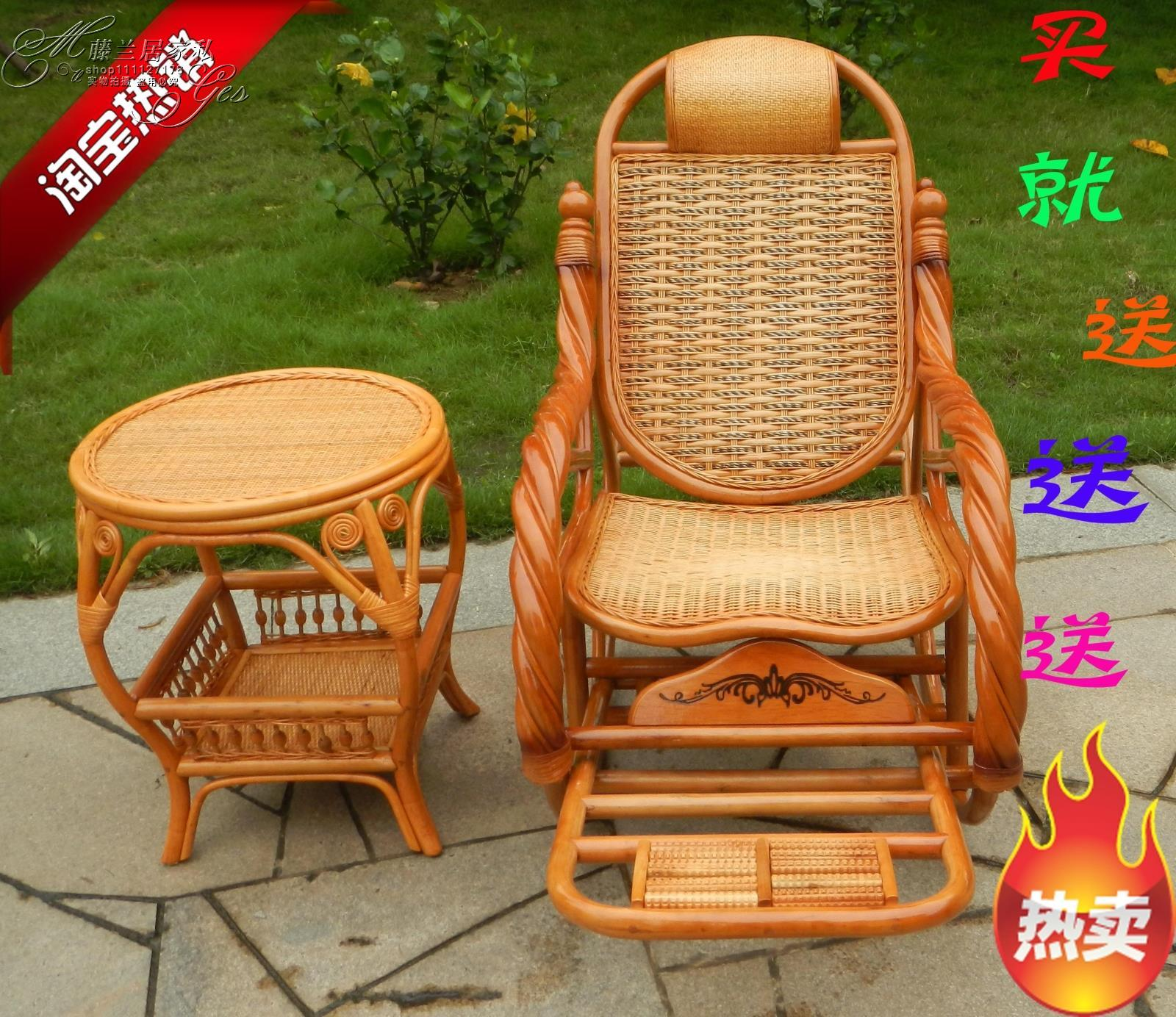 Factory Outlet And Twisted Cane Rocking Chair Easy Chair Cane Rocking Chairs  For The Elderly In Indonesia Balcony Chair Rocking Chair