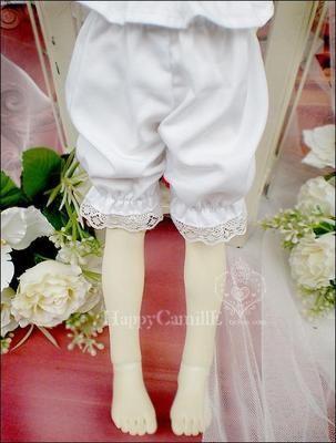 taobao agent SD BJD giant baby doll underwear 3 points 4 points 6 points white ordinary pumpkin pants 1/3 1/4 1/6