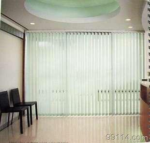 Жалюзи Шанхай жалюзи вертикальные жалюзи вертикальные белый лист постельное белье штор продажа штор может быть от двери до двери измерений