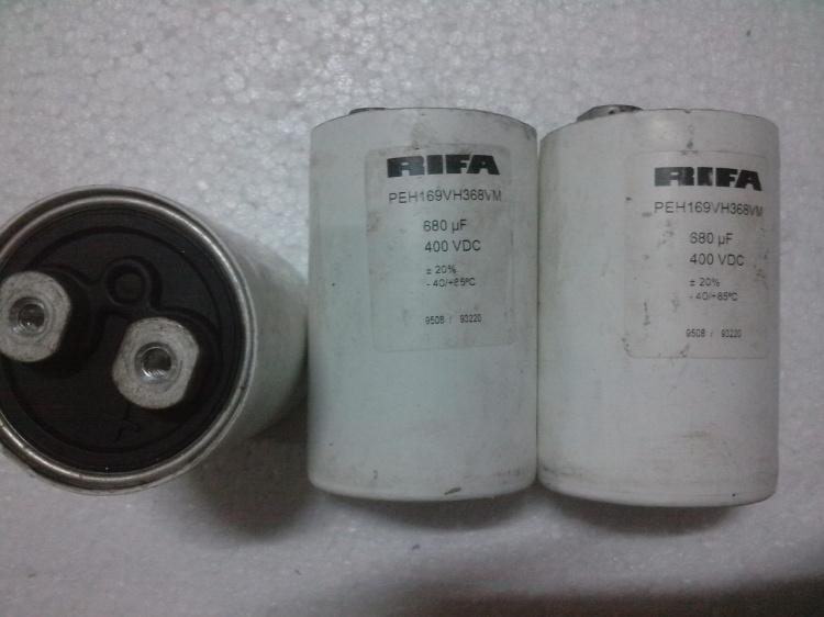 力发RIFAPEH169系列400v680uf电容型高压发烧螺丝