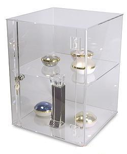 Acrylic Display Cabinet Plexiglass Boutique Showcase Perfume Cabinets  Cosmetic Container Model Display Box