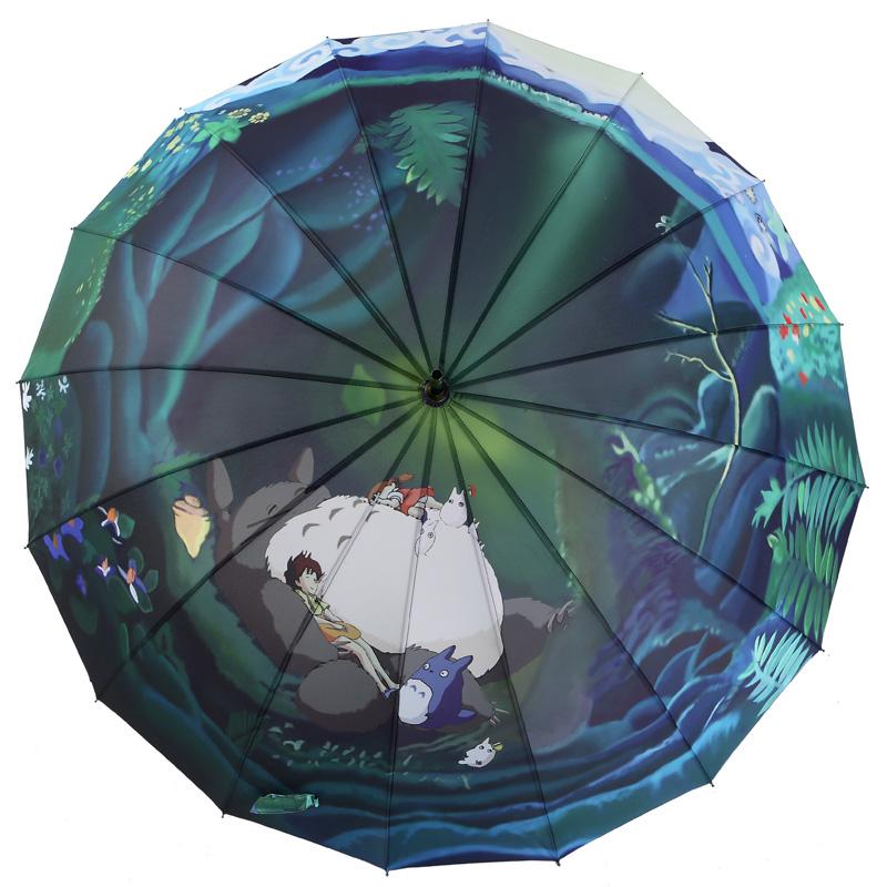 梵高油画伞折叠晴雨伞韩国遮阳伞女防晒长柄雨伞男创意星空伞自动