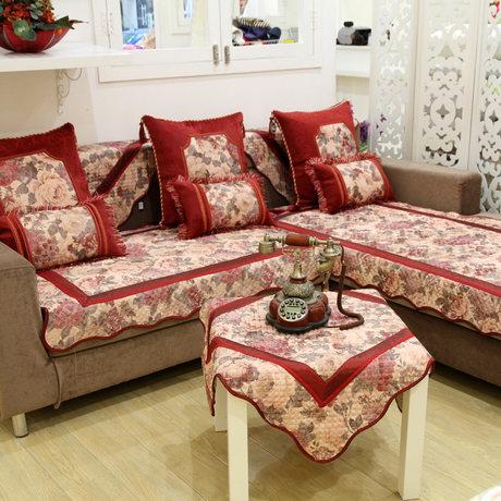 Накидка для дивана Частная обычай соответствия Эми домой в тот же искусства ткани диван подушка толстый кожаный диван противоскользящая подушка мода диван комплект