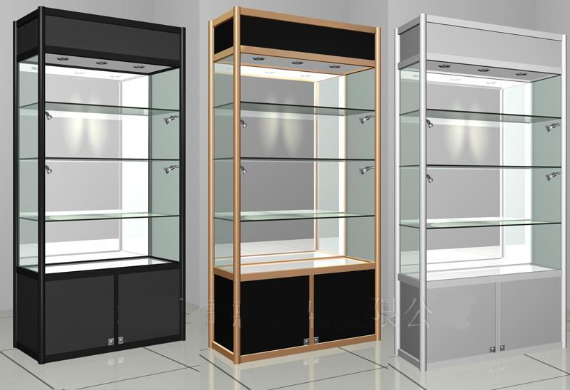 Shang Yue Boutique Shelves Display Cabinet Glass Showcase Gift Display Rack  Jewelry Cabinet Counter Made Of Titanium Alloy Display Rack