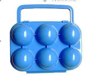 Outdoor camping partner high quality 6 egg box