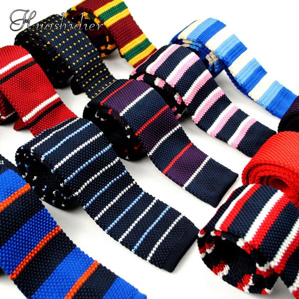 男休闲韩版平头针织领带 正装 休闲 商务结婚英伦学院风5cm男女生