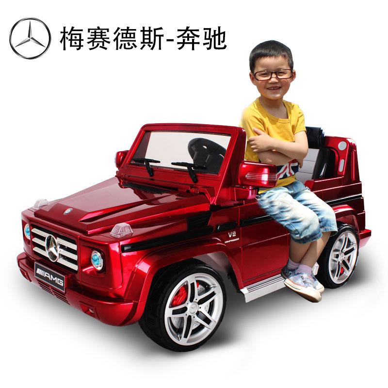 超大双人座儿童电动汽车路虎越野车可坐可遥控男款女款玩具汽车
