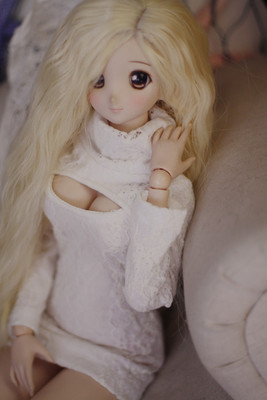 taobao agent 【endless】sd10/13 points 4 points bjd exposed milk top high collar T-shirt dd/dddy sexy top