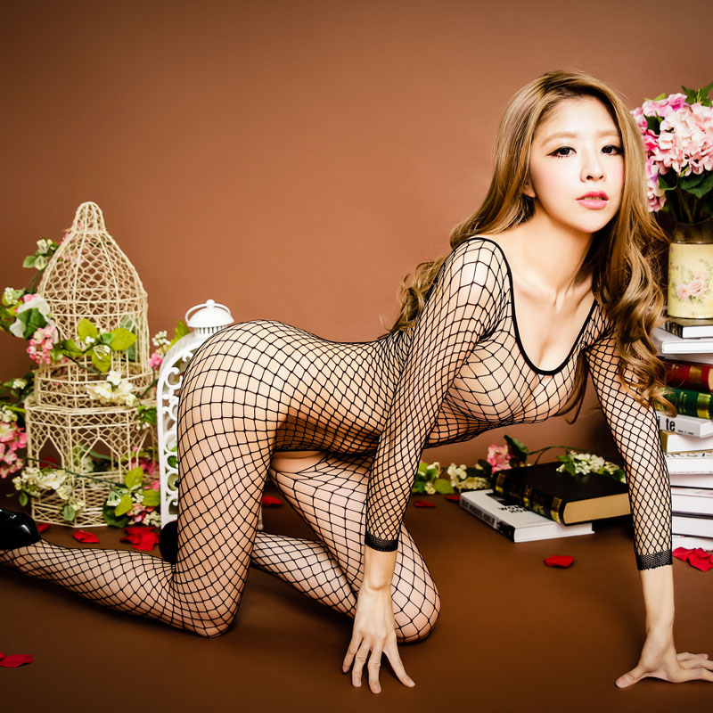 a253629a952 Charming and sexy one-piece fishnet full body stockings Temptation  pantyhose hollow transparent black net stockings sexy underwear -  BuyChinaFrom.com - Buy ...