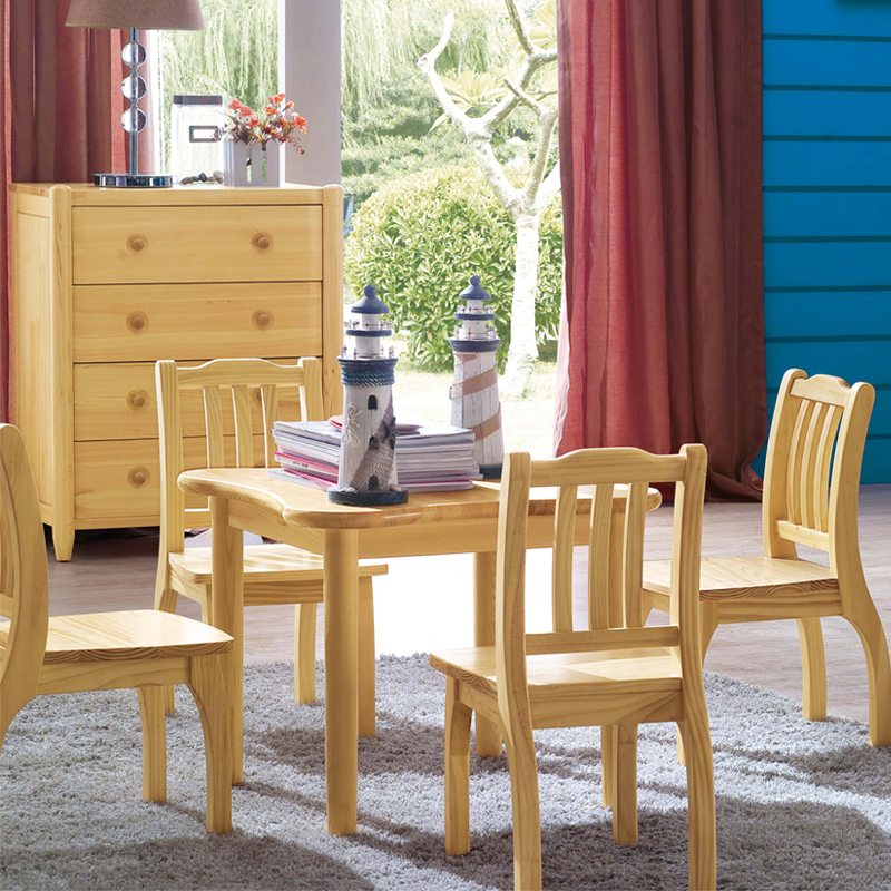 USD 262.34] Children\'s table & chairs set baby desk & chair study ...