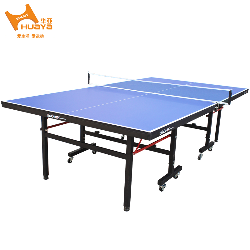 Huaya Ping Pong Table With Wheels To Move The Lift Can Be Folded Indoor  Fitness