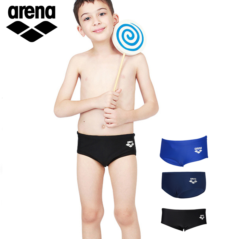 6a64e8b59e arena swim trunks triangle children swimwear kids boys baby leisure  comfortable solid color training swim trunks quick dry
