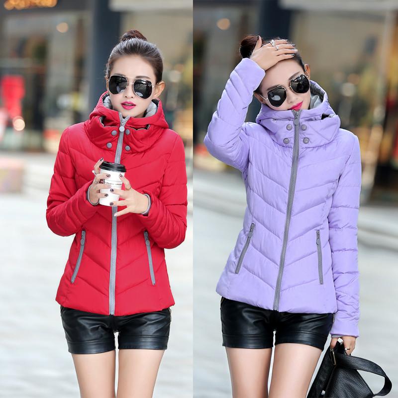 Áo khoác cotton nhỏ cho nữ áo khoác ngắn cotton ngắn bện 2018 mới áo khoác cotton cotton ngắn áo khoác nhỏ mùa đông quần áo mùa đông phiên bản Hàn Quốc tự canh tác