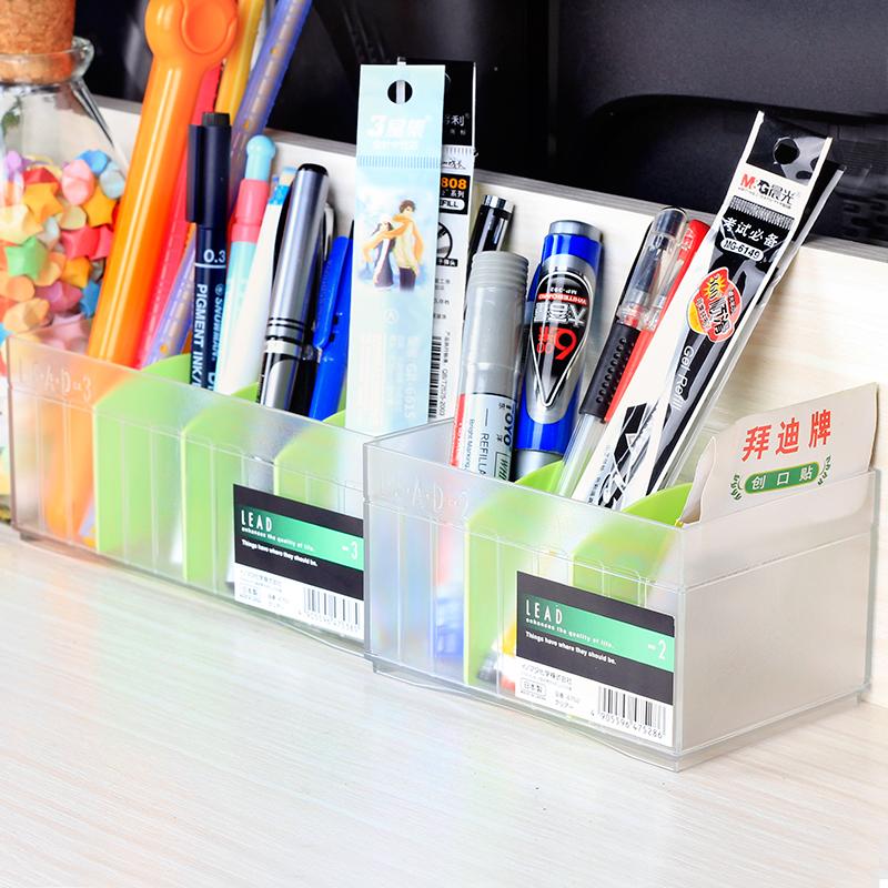 日本进口 inomata桌面收纳盒办公室整理盒化妆品收纳格抽屉整理格