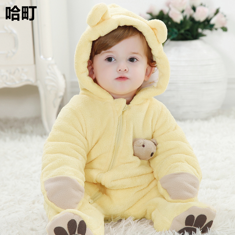 USD 70.99 Male baby winter dress 1-year-old baby clothes ...