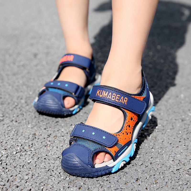 男童凉鞋包头儿童沙滩鞋2019夏季新款韩版男孩3-8岁9童鞋小孩鞋子