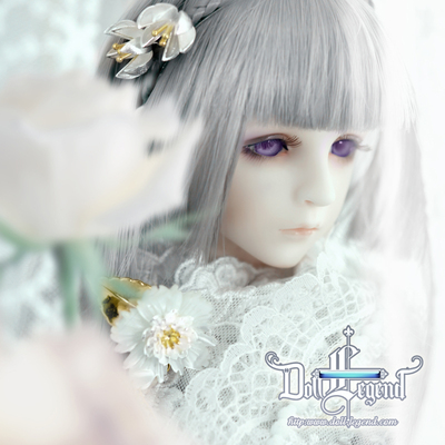 taobao agent 【DLD】Humanoid legend BJD doll 1/4 point makeup head Ayi Genuine makeup head authorized agent