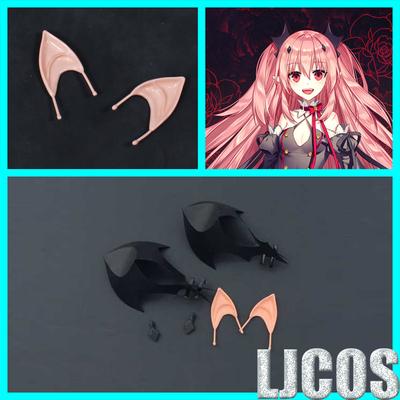 taobao agent 【LJCOS】Seraph of the end Kluru Tze Pessi headgear hairpin ears cosplay props