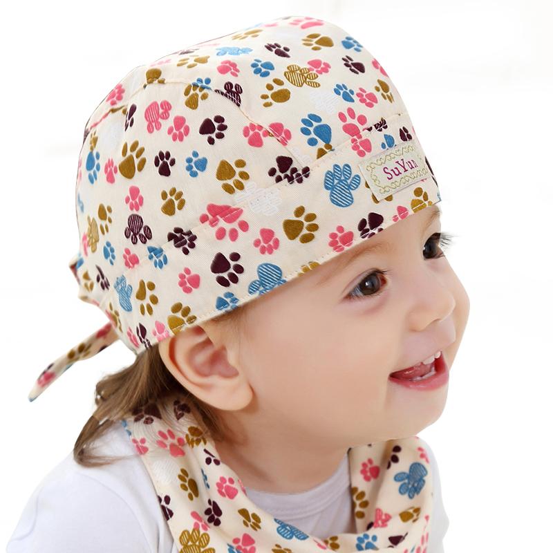 秋冬款纯棉胎帽小孩 婴儿套头帽 新生儿男女宝宝帽子0-3-6-12个月