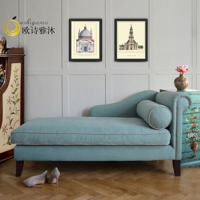 Marvelous American Continental Bedroom Chaise Longue Single Sofa Forskolin Free Trial Chair Design Images Forskolin Free Trialorg