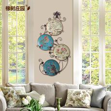 5d542ac37a303 pinturas murales de pintura decorativa en casa creativa Oak Manor 4 flores  pastoral americana colgar la