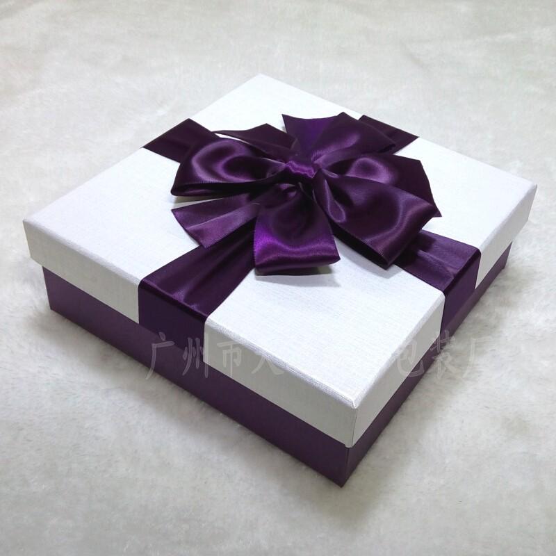超大号高档商务礼品盒正方形衣服围巾抱枕帽子礼物包装盒批发定做