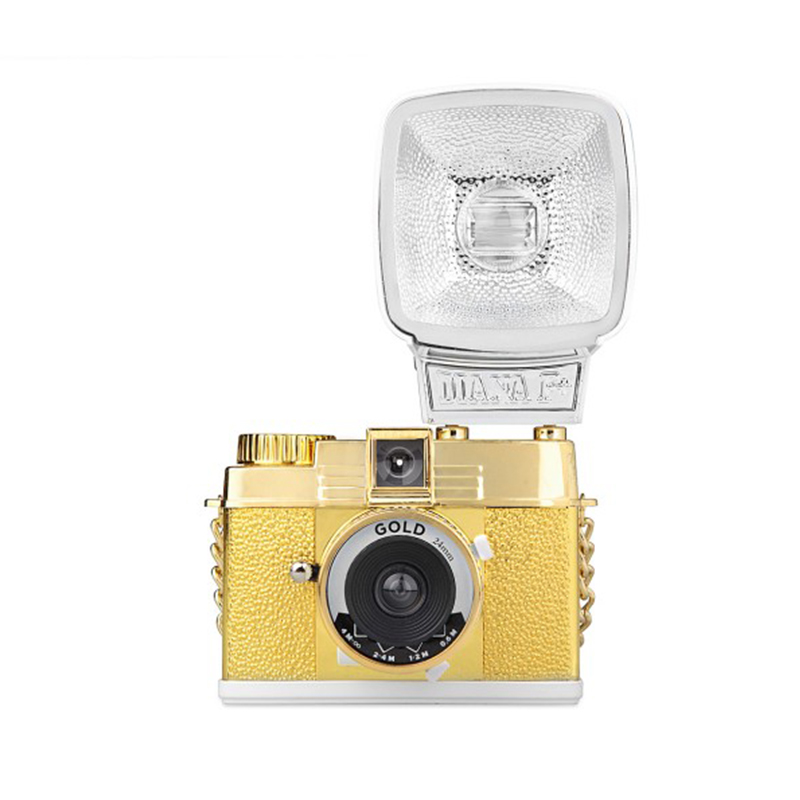 Lomography Camera Accessories Diana mini Glod Fall Winter Gold mini Special Edition