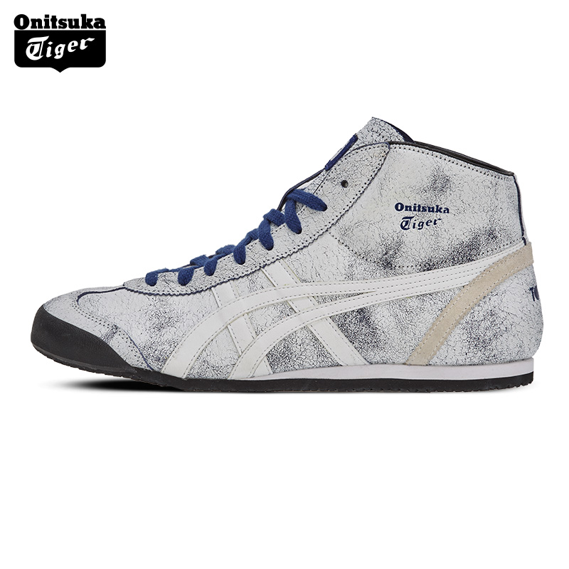 cheap for discount 8bf30 4a2dc Onitsuka Tiger onitzuka Tiger men and women casual sneakers MEXICO Mid  Runner TH6P3L